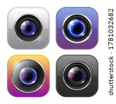 photo and video camera icons ... | Shutterstock .eps vector #1781032682