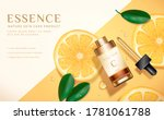 beauty product ad  concept of... | Shutterstock .eps vector #1781061788