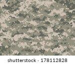 camouflage pixels   Shutterstock .eps vector #178112828