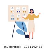 concept of successful task... | Shutterstock .eps vector #1781142488