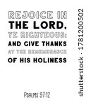 Rejoice In The Lord  Ye...