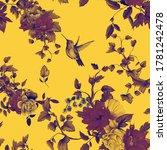 seamless background pattern.... | Shutterstock . vector #1781242478
