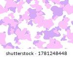 seamless flat spot. vector pink ...