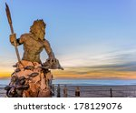 Statue Of King Neptune In...