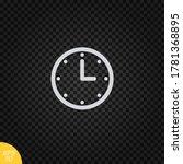clock icon vector.time symbol...
