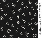 simple vector black and white... | Shutterstock .eps vector #1781375972