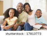 family at home   Shutterstock . vector #17813773