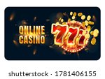 casino online play now slots... | Shutterstock .eps vector #1781406155