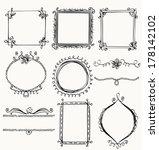 illustration of hand drawn... | Shutterstock .eps vector #178142102