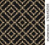 golden vector abstract... | Shutterstock .eps vector #1781452535