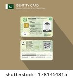 pakistan's national identity... | Shutterstock .eps vector #1781454815
