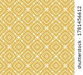 vector geometric seamless... | Shutterstock .eps vector #1781456612