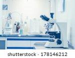 laboratory microscope.... | Shutterstock . vector #178146212