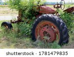 A Rusted Abandoned Old Vintage...
