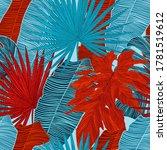 tropical luxury seamless...   Shutterstock .eps vector #1781519612