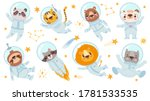 animals astronauts. space team... | Shutterstock .eps vector #1781533535