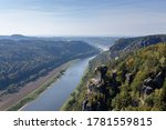River Elba Seen From Above At...