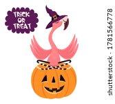 happy halloween. cartoon...   Shutterstock .eps vector #1781566778