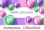 background with colorful... | Shutterstock .eps vector #1781623652
