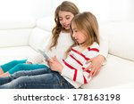 children sister friends kid... | Shutterstock . vector #178163198