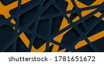 abstract 3d background with... | Shutterstock .eps vector #1781651672