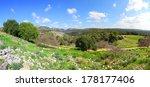 Pastoral Spring Landscape Of...