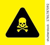 malware attention hazard.... | Shutterstock .eps vector #1781787092