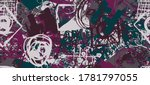 multi color grunge background...   Shutterstock .eps vector #1781797055