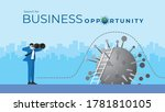 business vision concept.... | Shutterstock .eps vector #1781810105