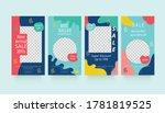 abstract social media post....   Shutterstock .eps vector #1781819525