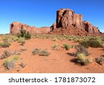 Landscape Of Monument Valley ...