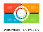 infographic template with a... | Shutterstock .eps vector #1781917172
