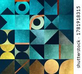 Abstract Geometrical Backgroun...