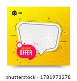 last minute badge. yellow... | Shutterstock .eps vector #1781973278