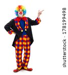 Funny Clown Pointing And...
