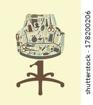 barbershop symbol   Shutterstock .eps vector #178200206