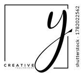 Letter Y Dynamic Monogram...