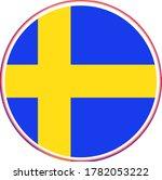 sweden flag vector icon in...   Shutterstock .eps vector #1782053222