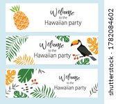 vector set of invitation cards... | Shutterstock .eps vector #1782084602