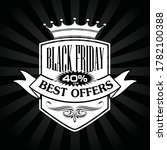 black friday banners sale ... | Shutterstock .eps vector #1782100388