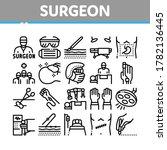 surgeon medical doctor...   Shutterstock .eps vector #1782136445