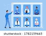 online registration on doctor...   Shutterstock .eps vector #1782159665