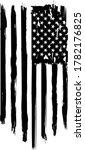 usa flag  vector flag  american ... | Shutterstock .eps vector #1782176825