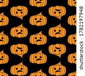 halloween seamless pattern.... | Shutterstock .eps vector #1782197948