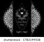 template of deign  of abstract... | Shutterstock .eps vector #1782199538