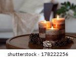 home decor still life | Shutterstock . vector #178222256