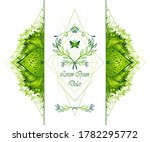 template of deign  of abstract... | Shutterstock .eps vector #1782295772