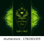 template of deign  of abstract... | Shutterstock .eps vector #1782301355
