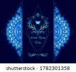 template of deign  of abstract... | Shutterstock .eps vector #1782301358