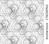 hexagon pattern including... | Shutterstock .eps vector #178230962